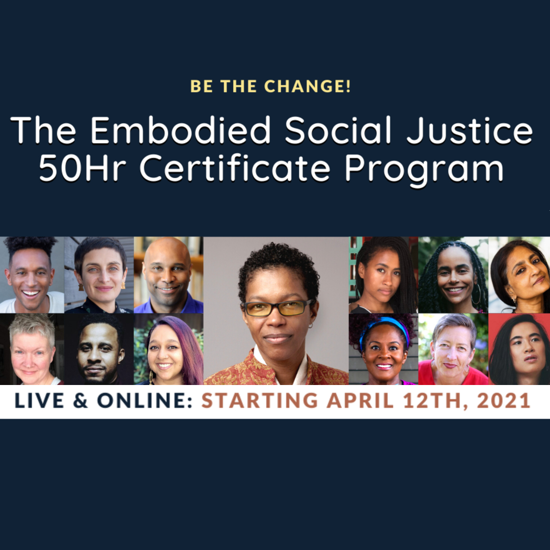 Embodied Social Justice Certificate